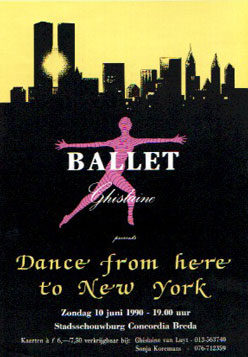 Dance from here to New York