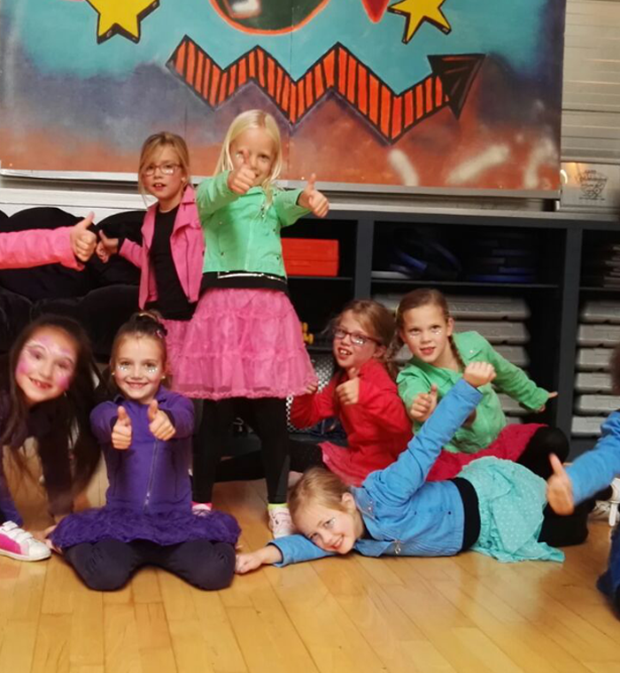Ghislaine Dance Company - kinderfeestje