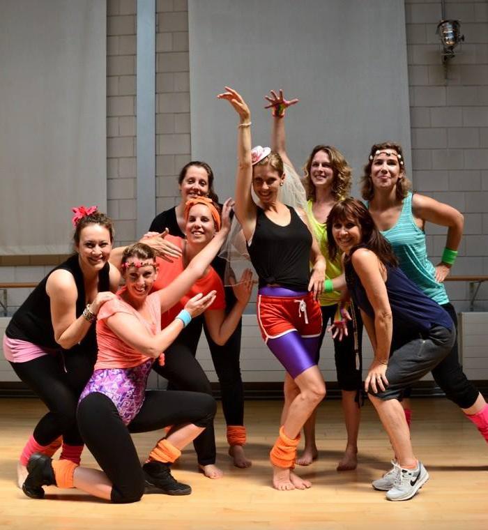 Ghislaine Dance Company – vrijgezellenfeest