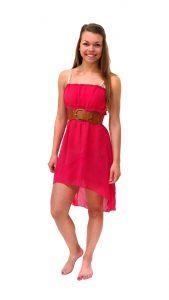 Ghislaine Dance Company Kledingverhuur - jurkje roze, oranje Earth