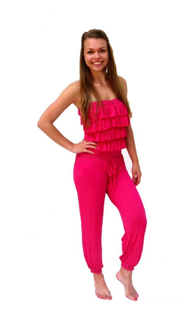 Ghislaine Dance Company Kledingverhuur - jumpsuit roze sunny