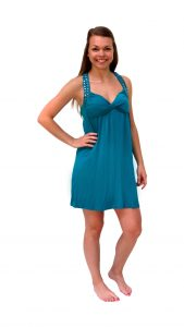 Ghislaine Dance Company - kledingverhuur - High School Musical blauw jurkje