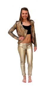 Ghislaine Dance Company - kledingverhuur - Goud_broek_jasje_Earth_dicht