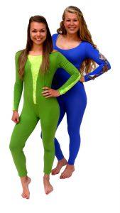 Ghislaine Dance Company- Kledingverhuur- bodysuit_groen_paars_blauw