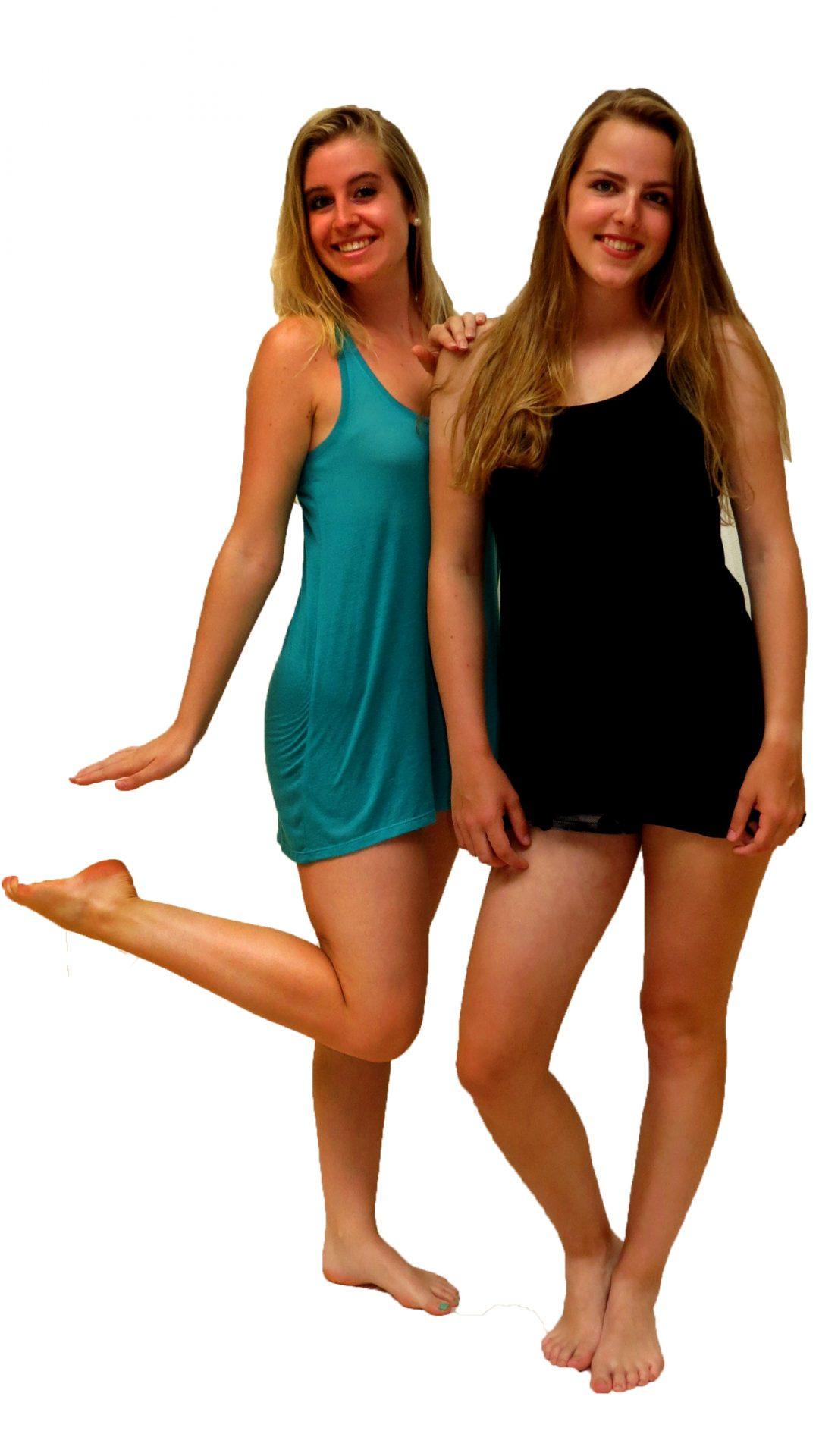 Zwart Basic Jurkje.Basic Jurkje Groen Blauw Zwart Lichtblauw Wit Ghislaine Dance